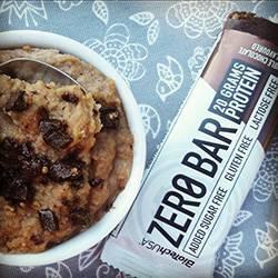 zero bar muffin
