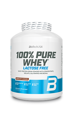 100% Pure Whey Lactose Free